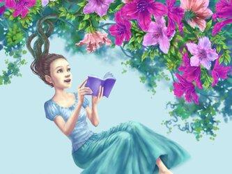イラストカード【知の開花】の画像