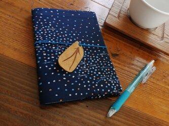 レトロ柄のノートカバー(小)の画像