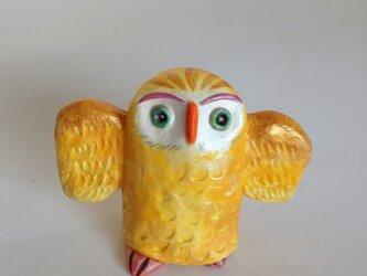 金フクロウの画像