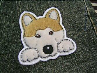わんこオーナー様★写真からオーダーワッペン★犬顏作成の画像