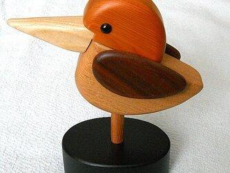 鳥の印鑑入れの画像
