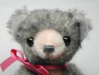 Sold out!  まめっこ♡チップドモヘアのベビーベア 送料無料の画像