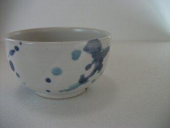 しずく模様お茶碗(小)の画像