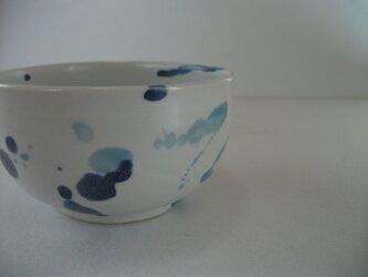 しずく模様お茶碗(中)の画像