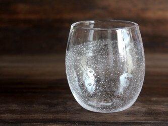 小さな泡のグラス ハーフ 小さめの画像