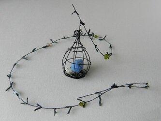 しあわせの青い鳥 Happyキャッチャー (アイアン)の画像