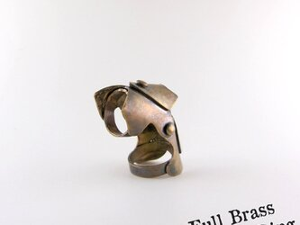 Full Brass Armor Ring//真鍮製の画像
