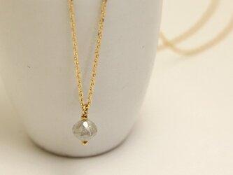 K18 アイス ダイヤモンド ネックレスの画像
