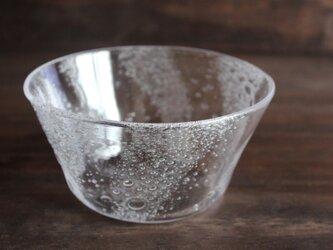 小さな泡の平鉢 の画像