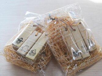 防虫防カビに 青森ヒバのecoブロック3本 & 糸ヒバの画像
