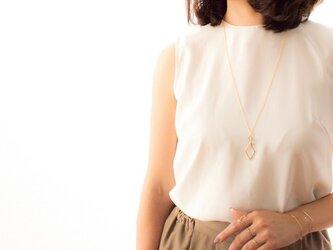 Rhombus Long Necklaceの画像