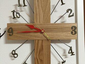 ブラブラ壁掛け時計の画像