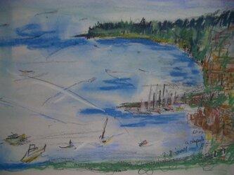 ソレント海岸線の画像