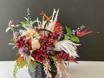 Autumn Cosmos basketの画像