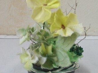 手漉き和紙花ギフト 春の原っぱの画像