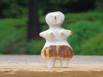 【角偶】D/鹿角から削り出した人形(ひとがた)/お守りの画像