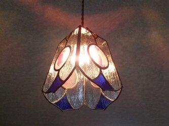 【照明】ステンドグラス、ペンダントライト,ニャンコの画像