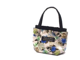 小さなバッグのバネポーチ 12cm LIBERTY Sissinghurst Blueの画像