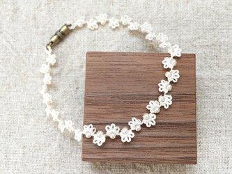 small flower*braceletの画像