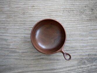 Bowl(L) ブラックウォルナットの画像