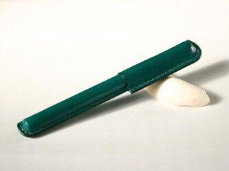 革ペン ブルーグリーンの画像