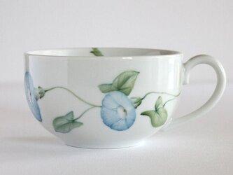 朝顔のスープカップの画像