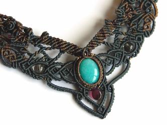 amazonite /  decollete necklaceの画像