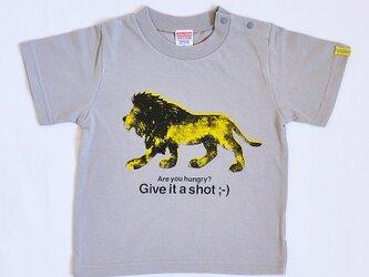 Lion T-shirt 90cmの画像
