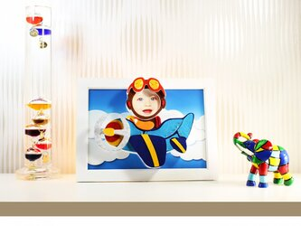 Flying Boy ~3D Photo ART~の画像