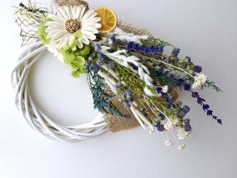Lavender wreathの画像