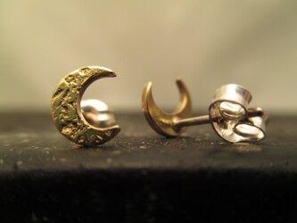 〜Moon〜 ピアス [真鍮] セットの画像