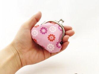 孫がま口*Daisies in Pinkの画像
