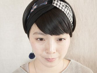 NEW▷patchwork turban <ss 3cloth-06>の画像