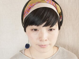 NEW▷patchwork turban <ss 3cloth-09>の画像
