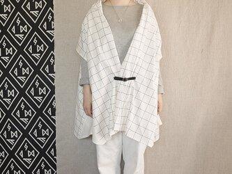 three way stole(cotton,linen) 15の画像