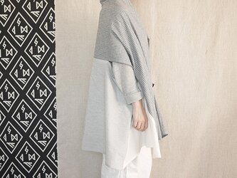 three way stole(cotton,linen) 18の画像