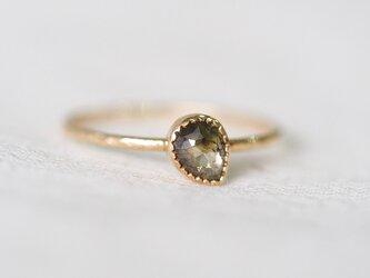 Deep Forest Gradation Diamond Ringの画像