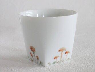 きのこのカップの画像