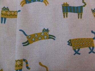 jupe de chat-beige 猫のベージュのスカートの画像