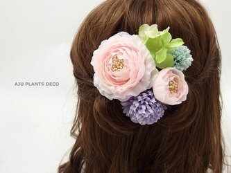 髪飾り(18)~パステル~の画像