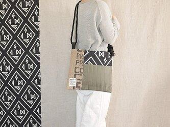 Coffee patchwork bag02-c (S)の画像
