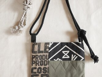 Coffee patchwork bag02-f (S)の画像