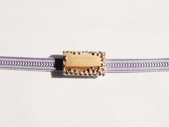香木(パロサント)帯留の画像
