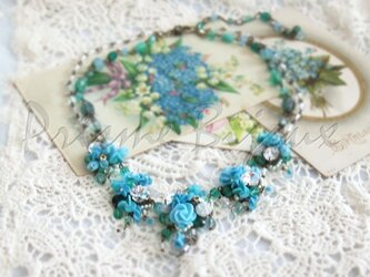 "Necklace ""April Showers""の画像"