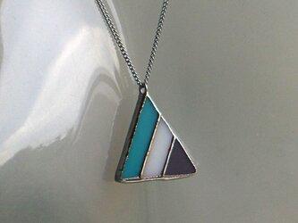 三角 ネックレスの画像