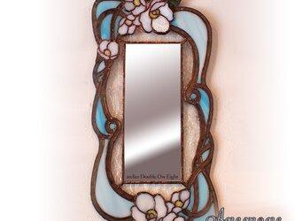 ステンドグラスミラー Anemone(アネモネ)の画像