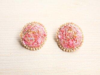 サタデーナイトピアス pinkの画像