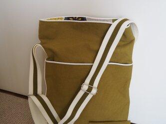 斜め掛けバッグ(ポケットティッシュ入れ付き) 6の画像