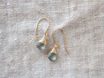 rainy large hook earringsの画像