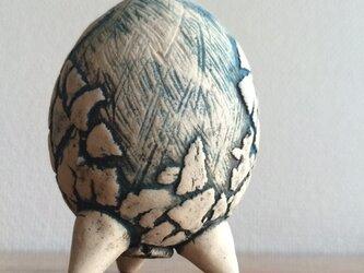 お香立て タマゴ型の画像